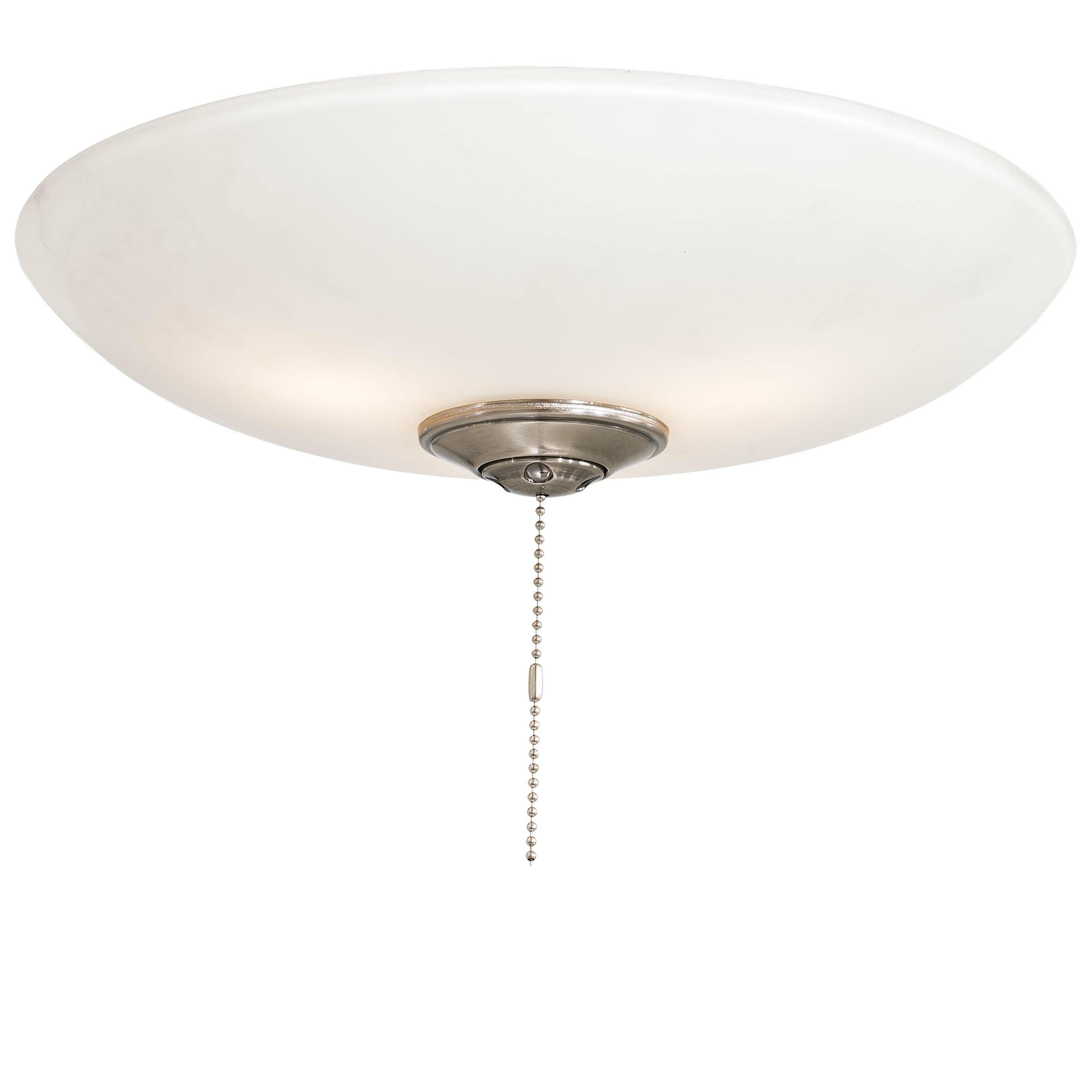 aire universal 3 light bowl ceiling fan light kit reviews wayfair. Black Bedroom Furniture Sets. Home Design Ideas