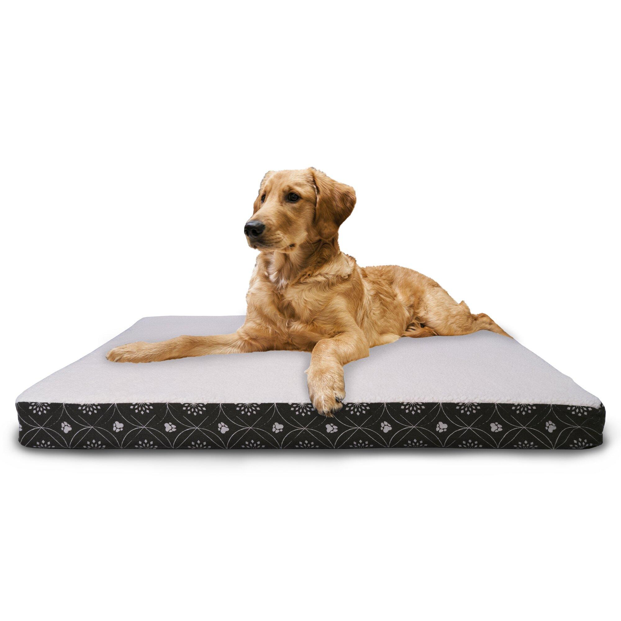 Orthopedic Egg Crate Dog Bed