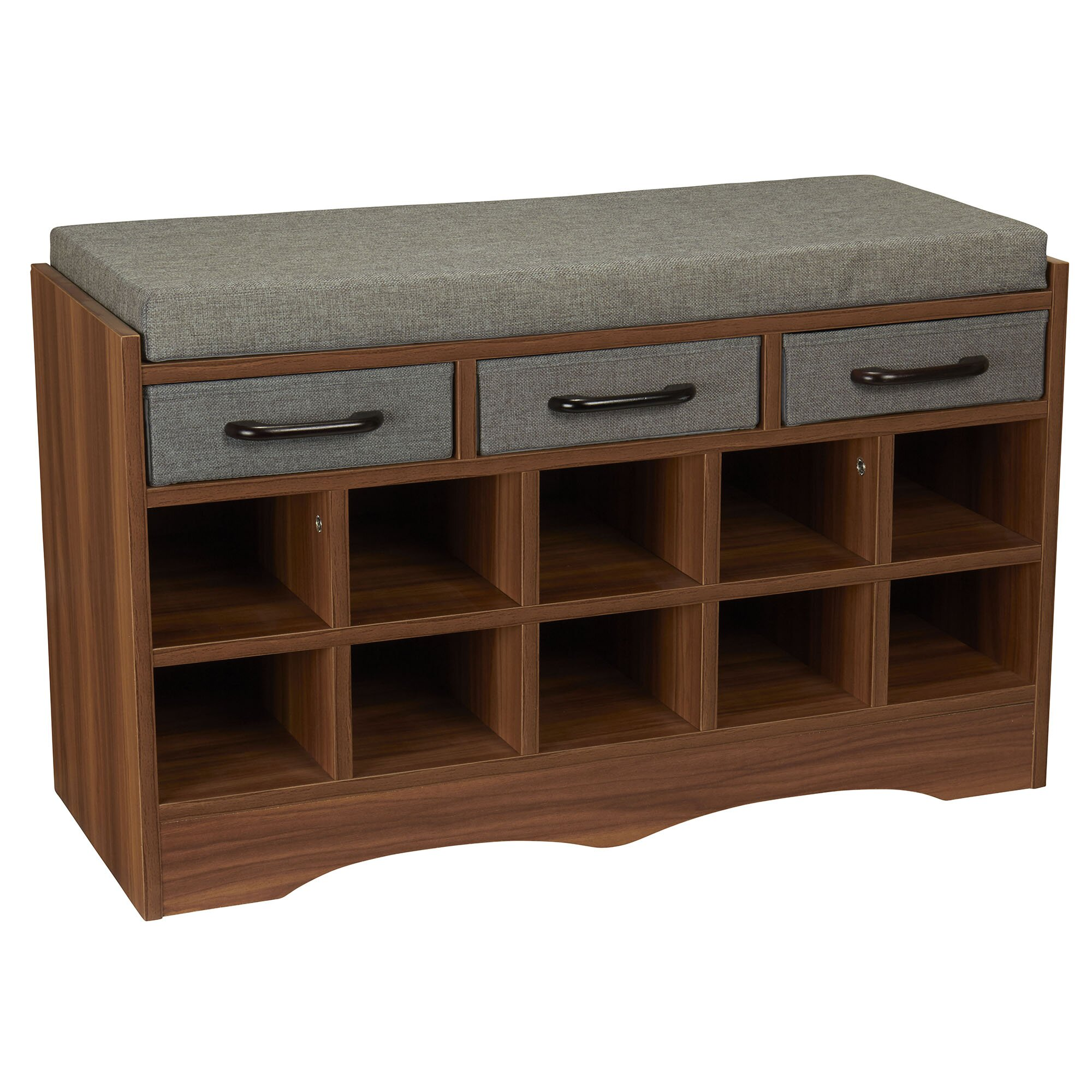 Household Essentials Entryway Shoe Storage Bench Reviews Wayfair