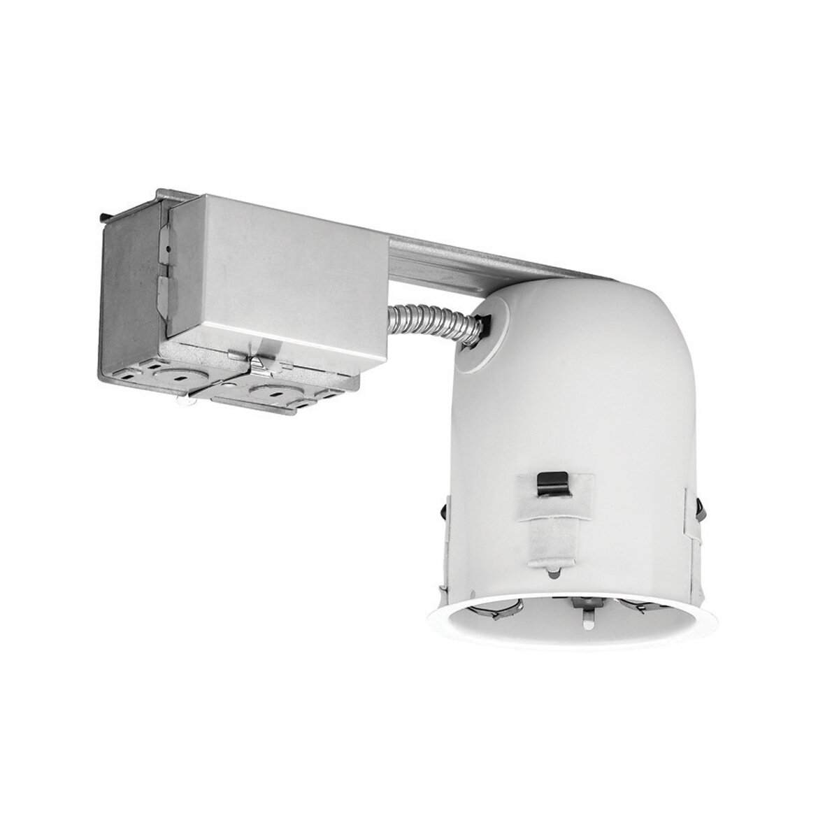 4 Recessed Lighting Housing Ic Remodel : Wac lighting compact fluorescent ic shallow remodel