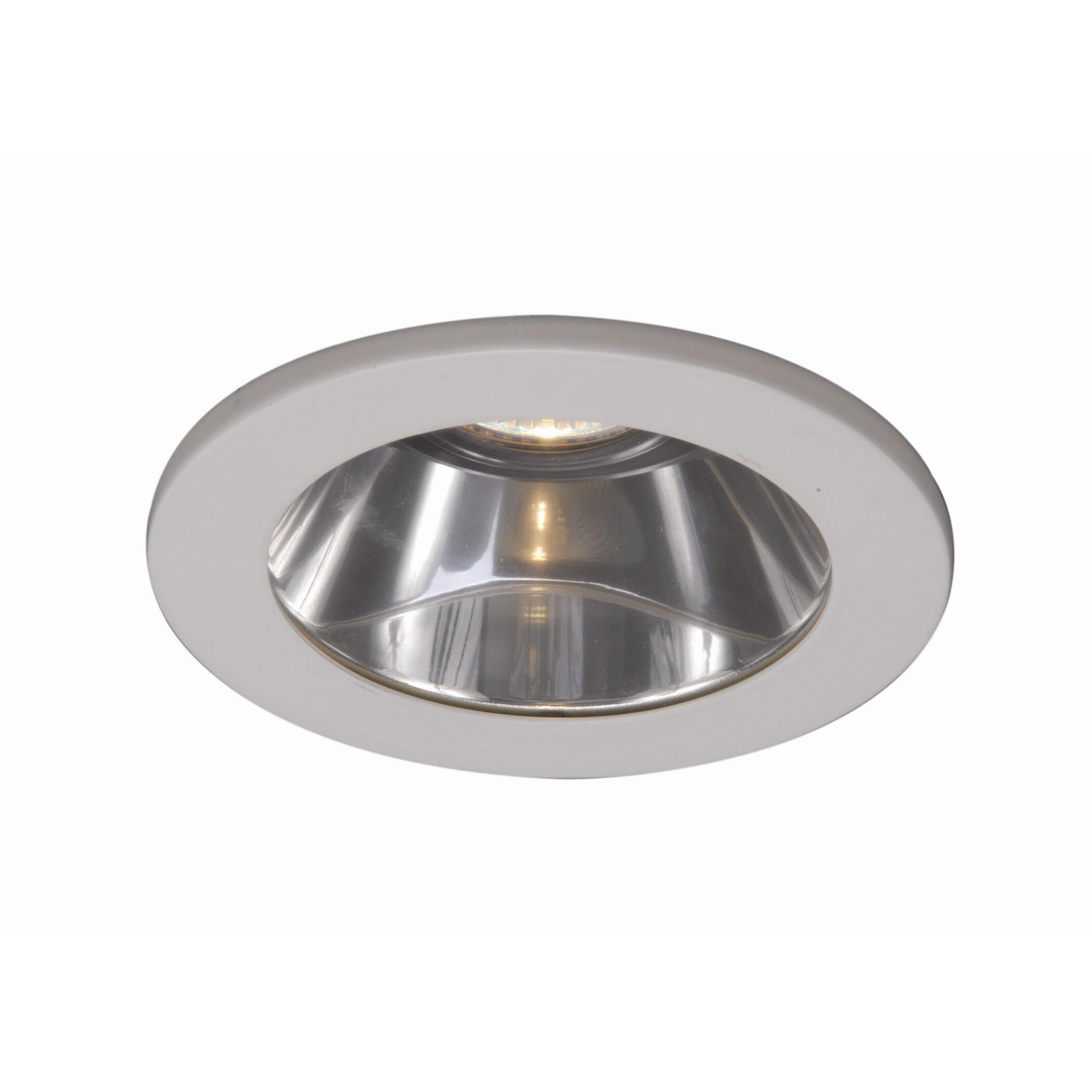 flat glass shower light recessed trim by wac lighting. Black Bedroom Furniture Sets. Home Design Ideas
