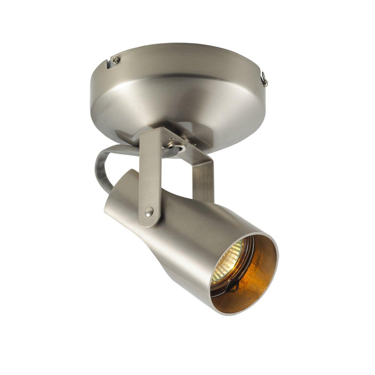 Flush Mount Low Voltage Outdoor Lighting: WAC Lighting 007 Series Low Voltage Semi Flush Mount Spot