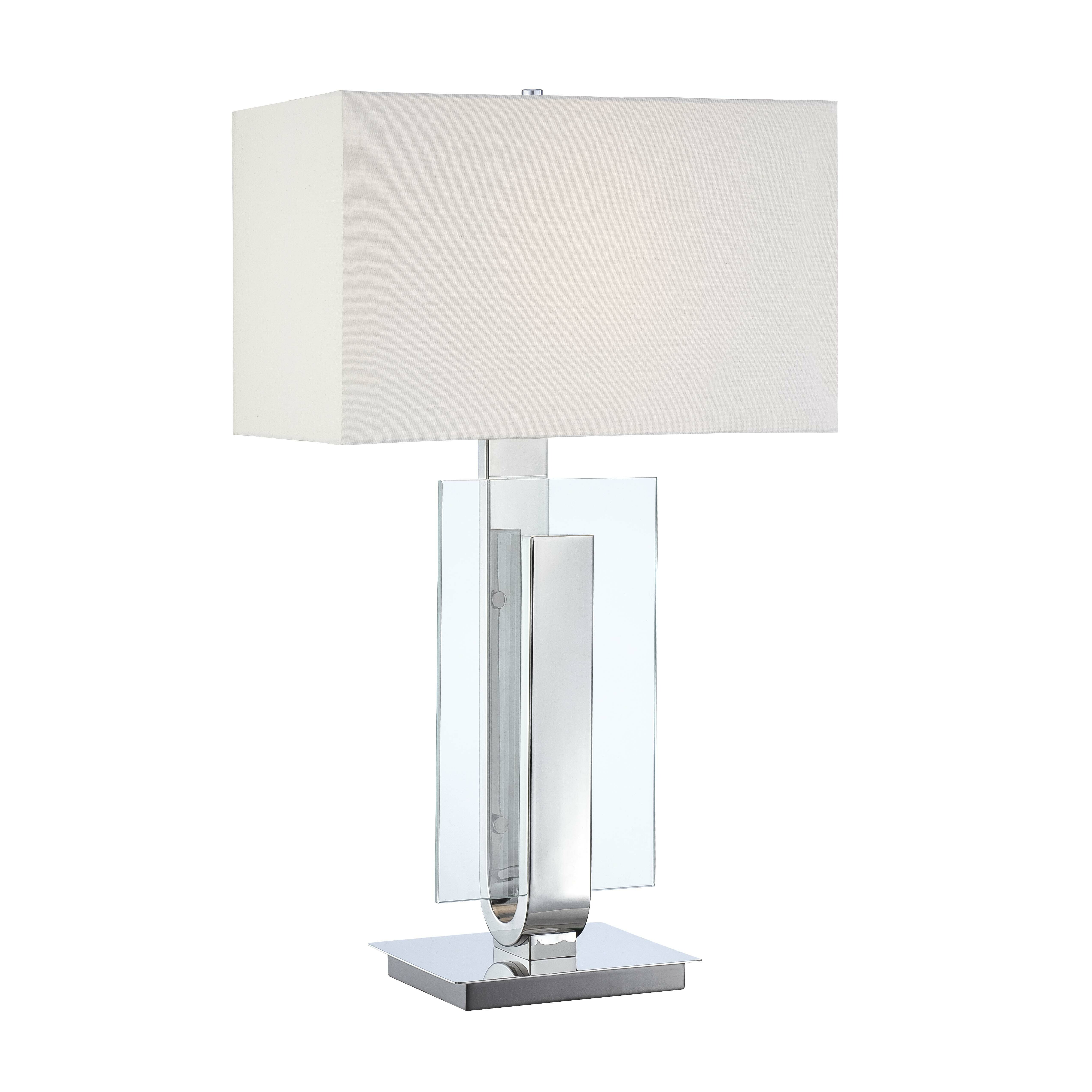 George kovacs portables 31 quot h table lamp with rectangular