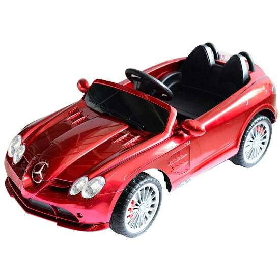 Soozier aosom mercedes benz 722s kids 12v battery powered for Mercedes benz kids