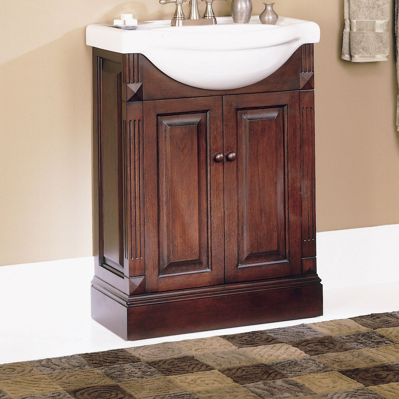 Foremost salerno 25 single bathroom vanity set with - Foremost bathroom vanity reviews ...