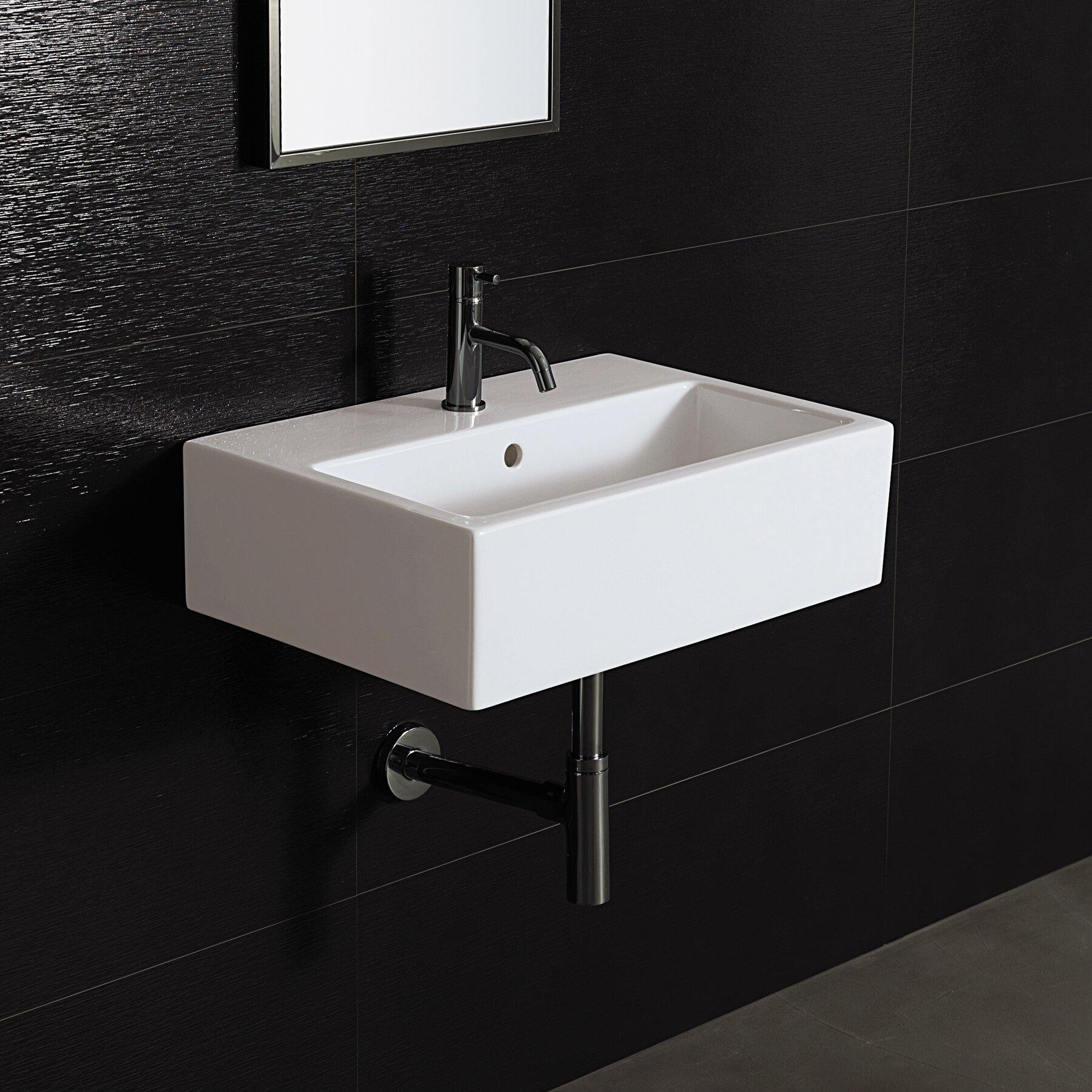 Bathroom Wall Mount Sink : Bissonnet Area Boutique Wall Mount Bathroom Sink & Reviews Wayfair