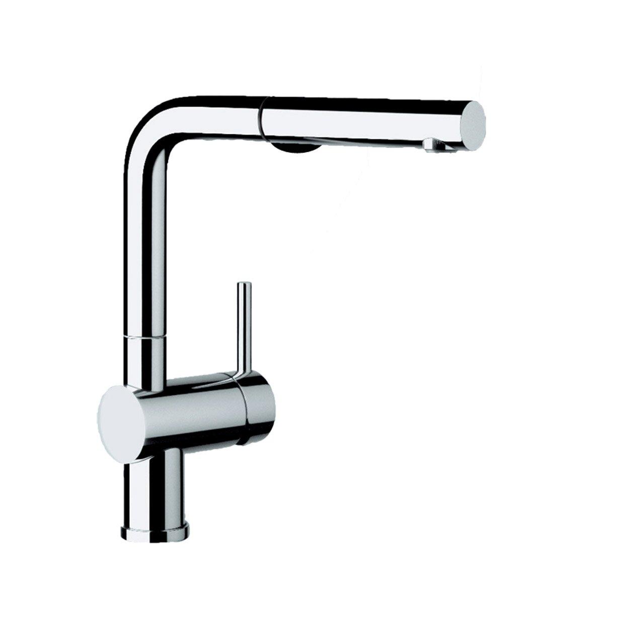 blanco linus single handle deck mounted kitchen faucet