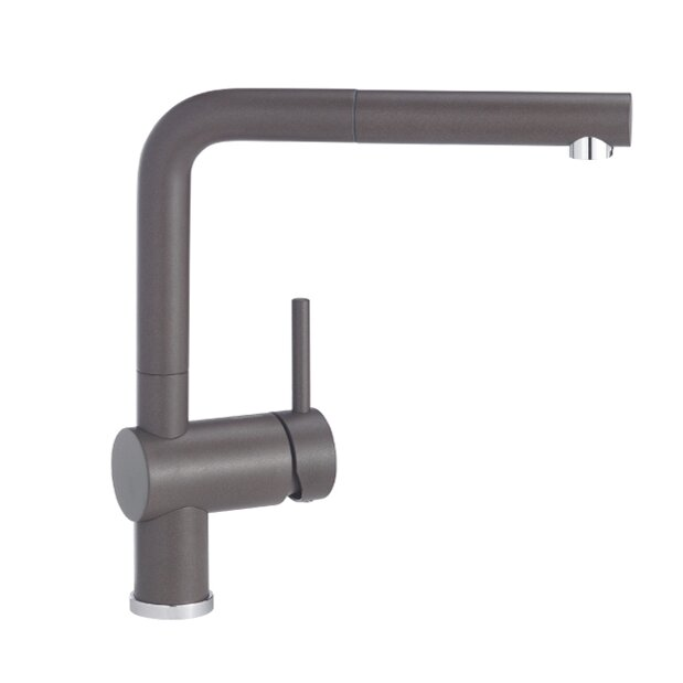 Blanco Kitchen Faucet Reviews : Blanco Linus Single Handle Deck Mounted Kitchen Faucet with Pull Out ...