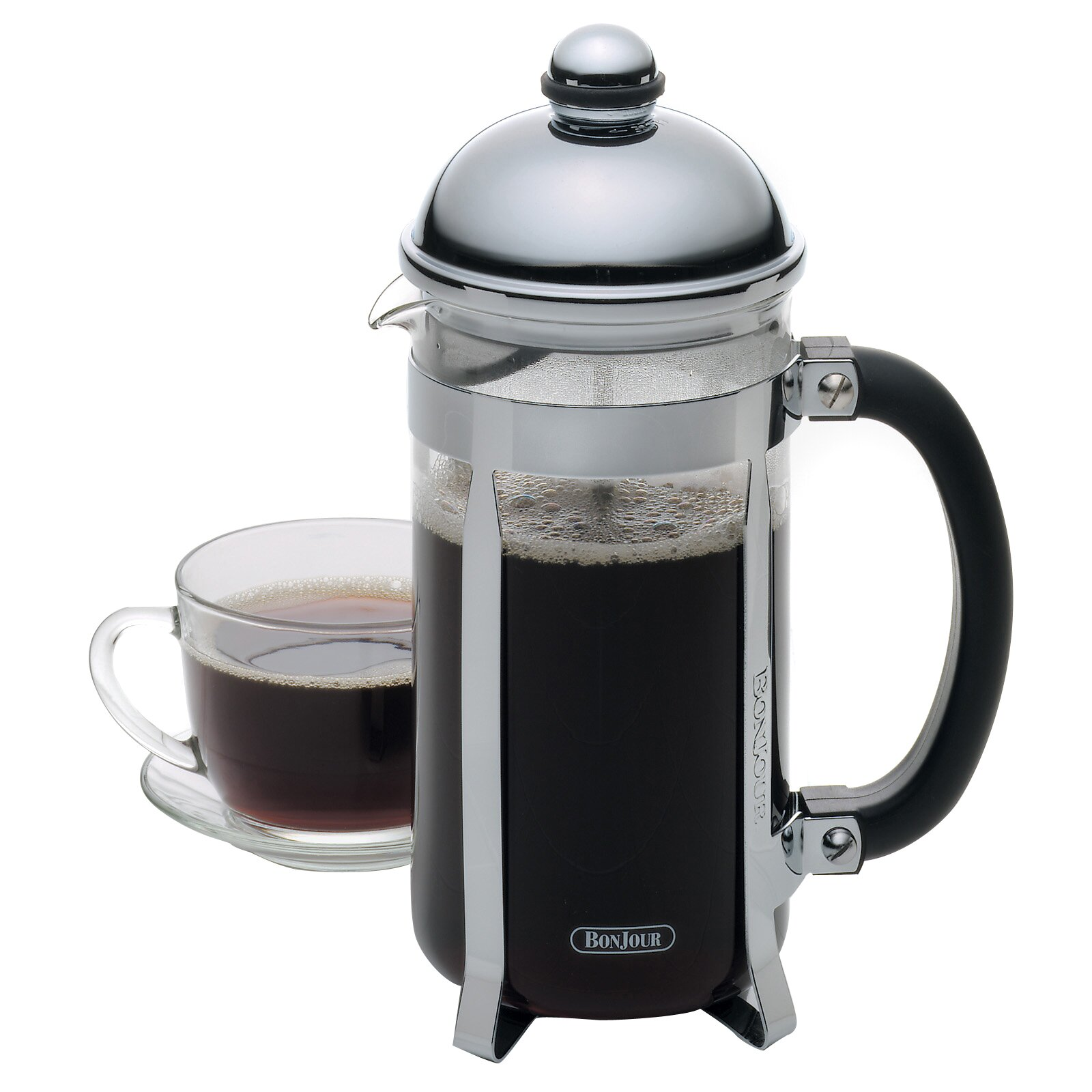maximus french press coffee maker wayfair. Black Bedroom Furniture Sets. Home Design Ideas