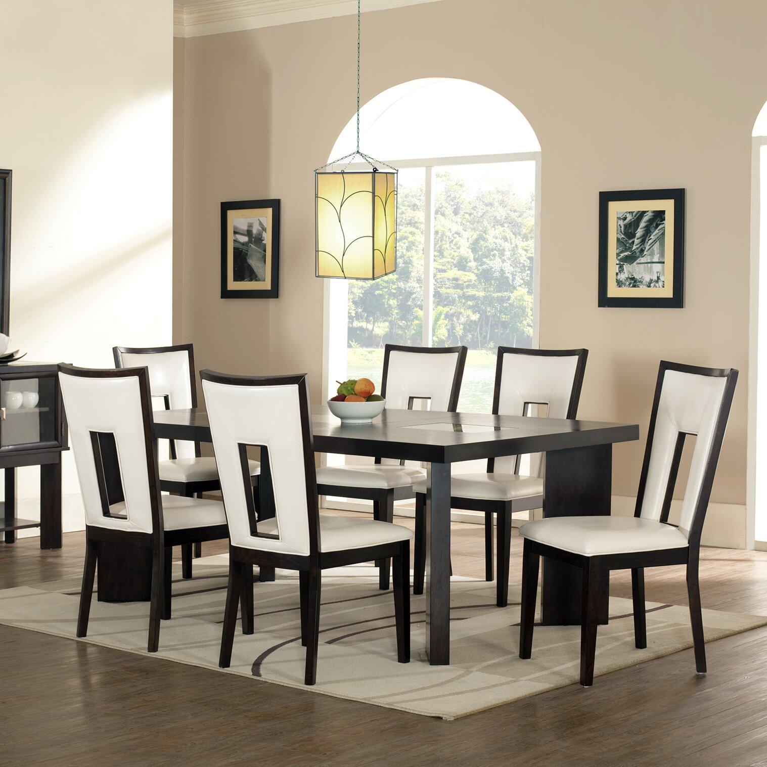 Steve Silver Leona 9 Piece Dining Table Set: Steve Silver Furniture Delano 7 Piece Dining Set & Reviews