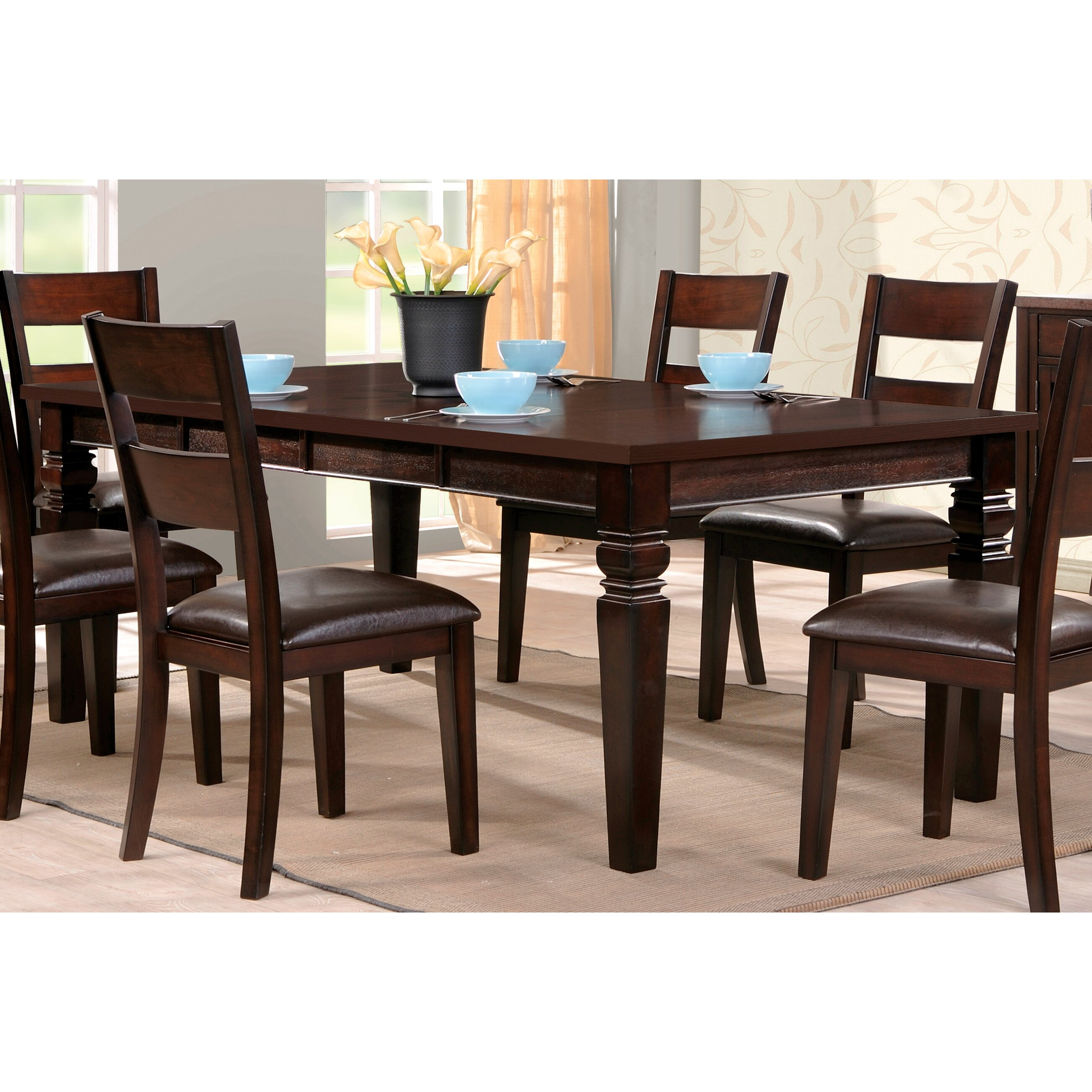 Steve Silver Furniture Gibson Counter Height Extendable Dining Table Reviews Wayfair