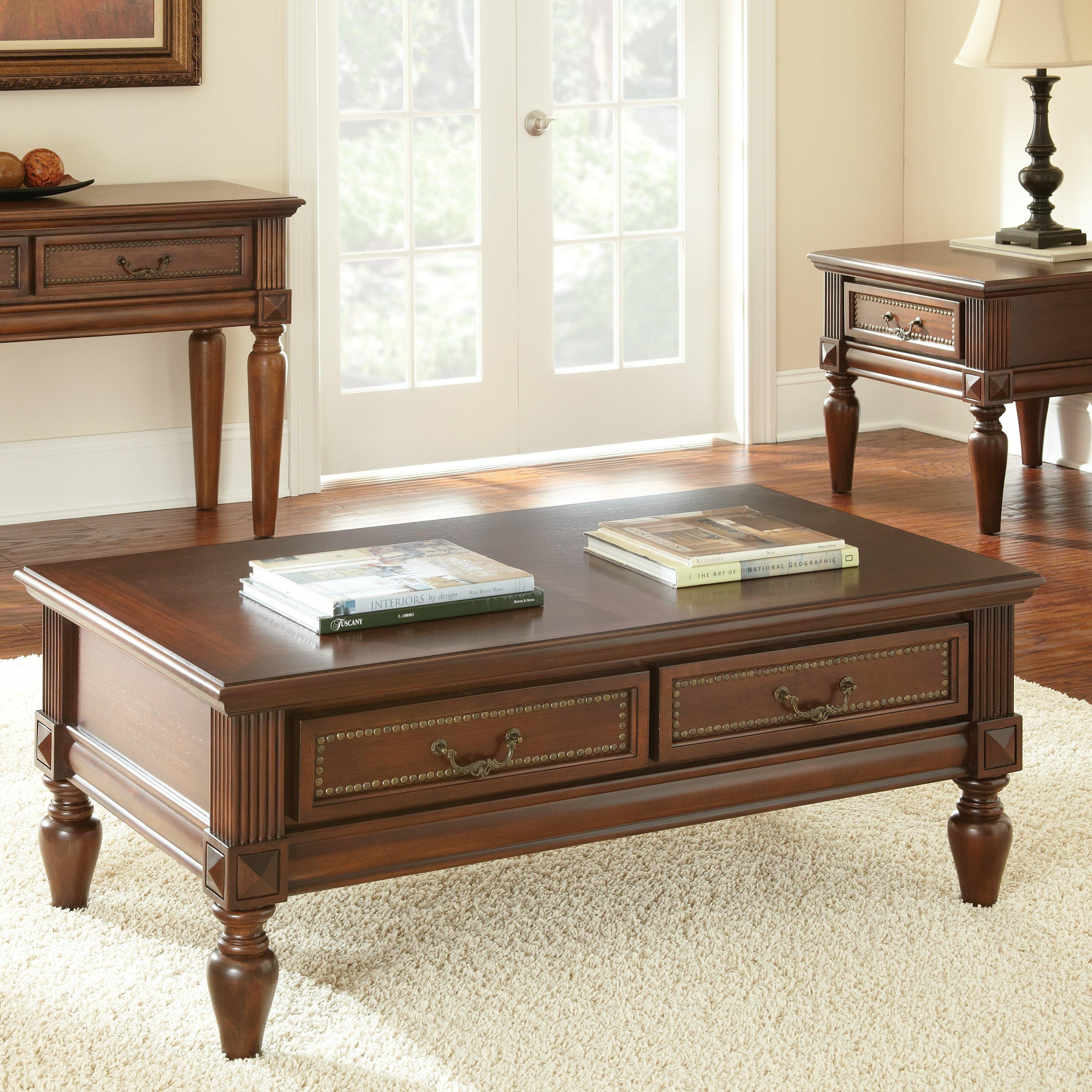 ... Furniture ... Rectangle Coffee Tables Steve Silver Furniture SKU