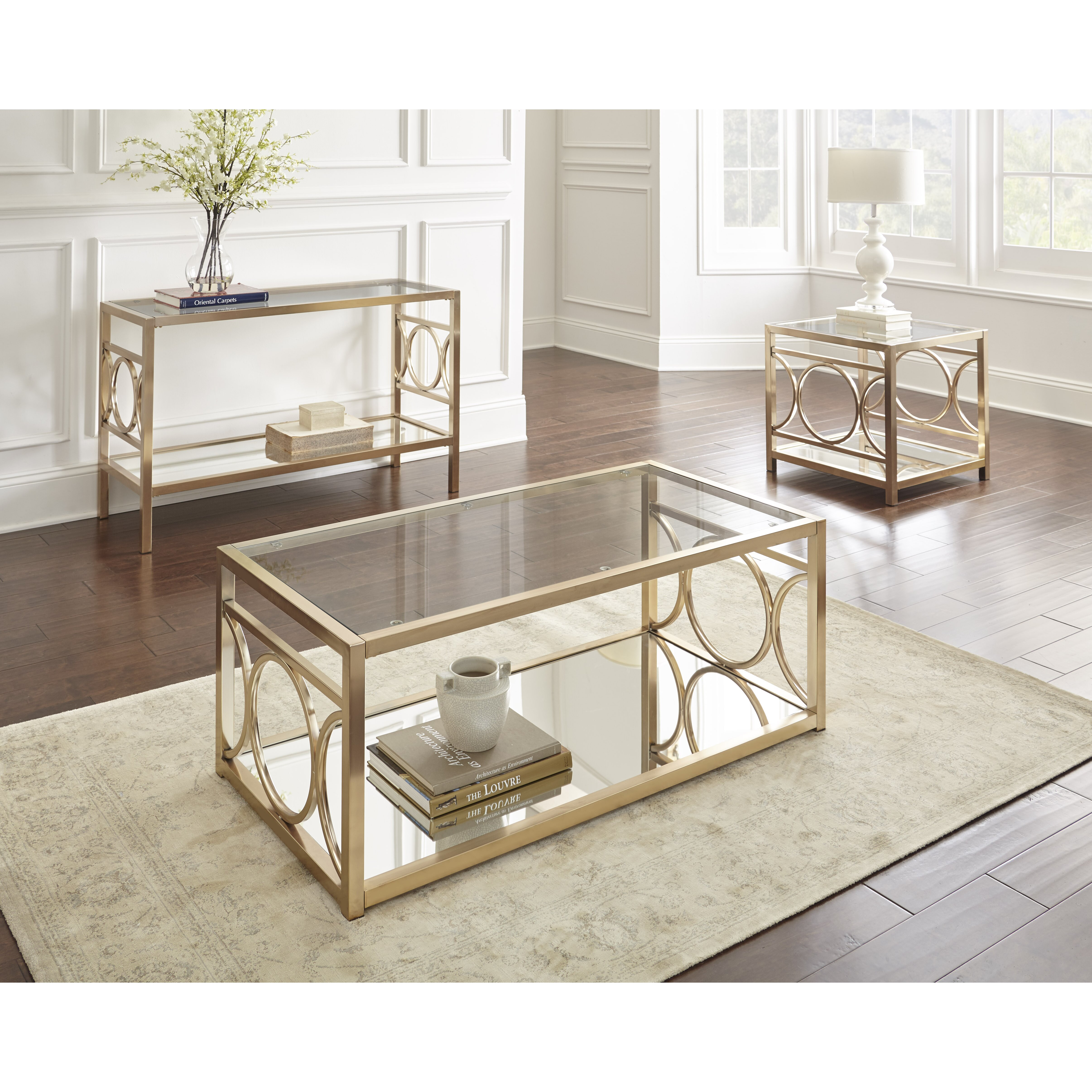 Steve Silver Furniture Olympia Coffee Table & Reviews