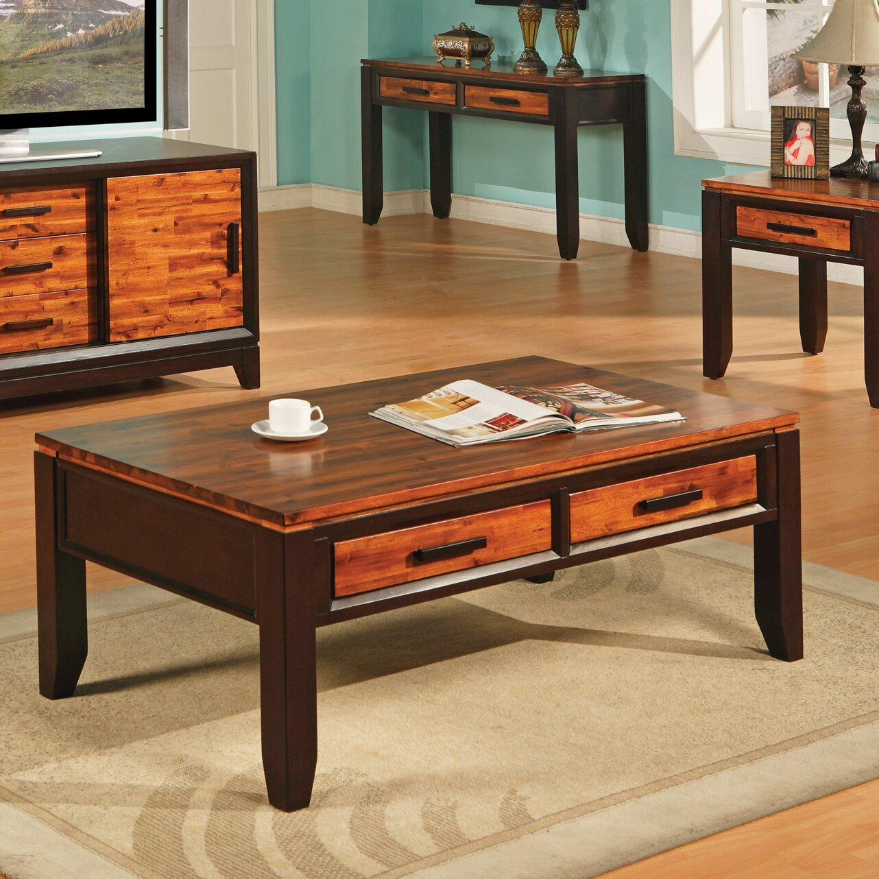 Steve Silver Furniture Abaco Coffee Table & Reviews