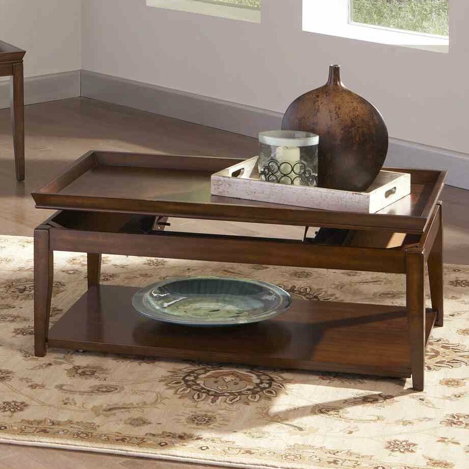 Steve Silver Furniture Clemson Coffee Table With Lift-Top