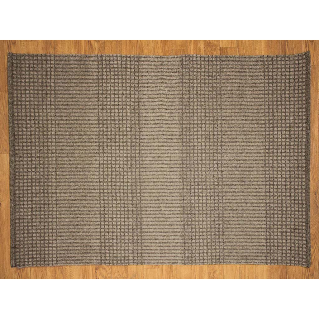 Checked Black Grey Rug: Grey Avalon Black/Gray Plaid Area Rug