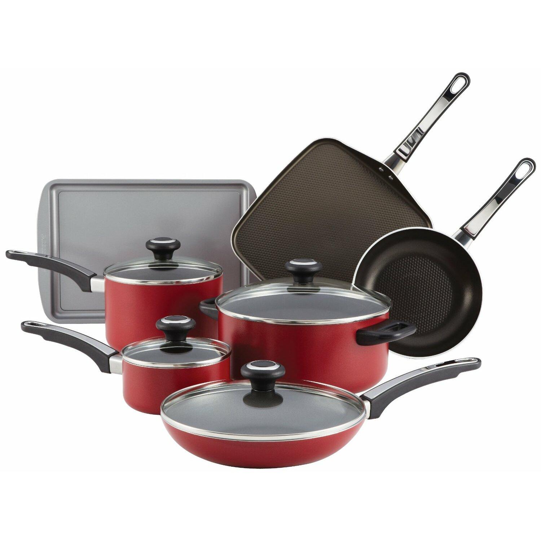 Farberware High Performance Nonstick 12-Piece Cookware Set & Reviews ...