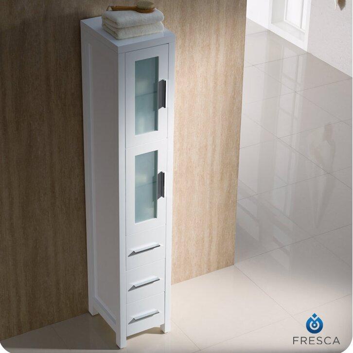 narrow tall cabinet for bathroom 1