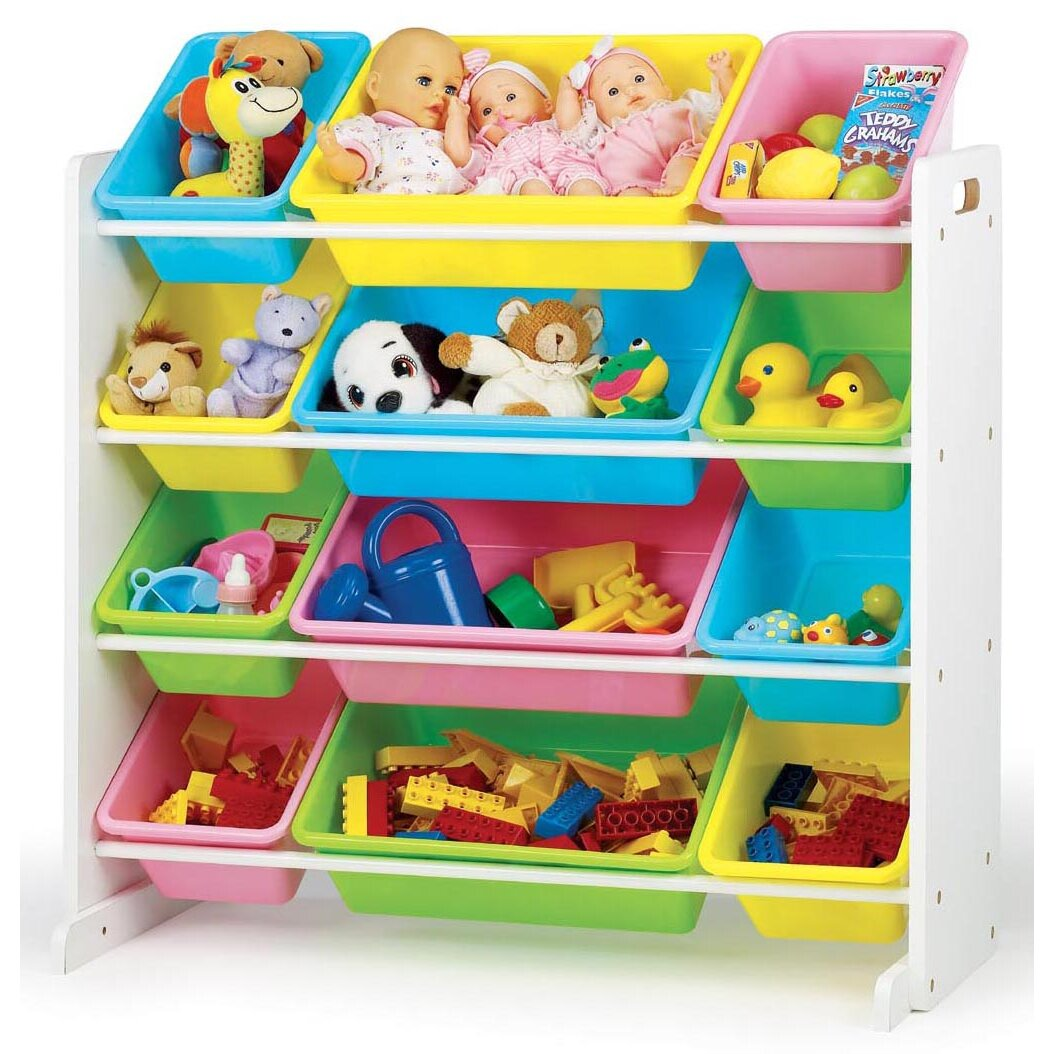 tot tutors primary toy organizer reviews wayfair. Black Bedroom Furniture Sets. Home Design Ideas