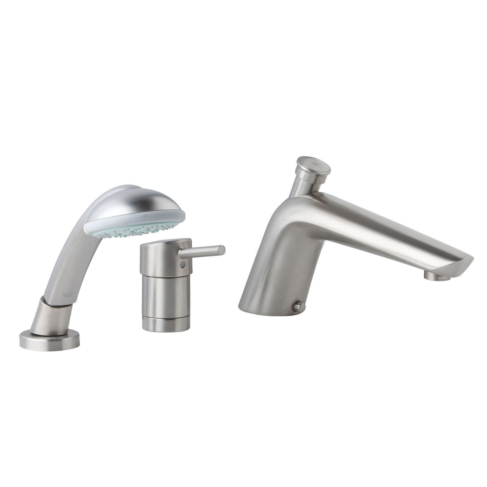 Essence Single Handle Wall Mount Roman Tub Faucet Trim