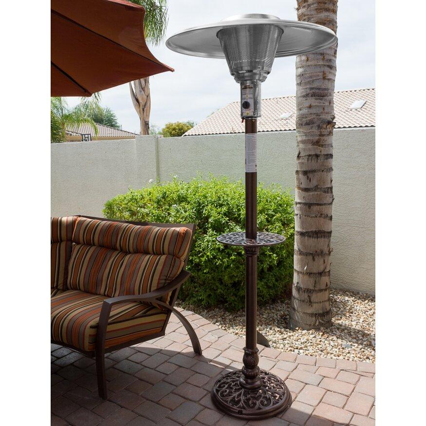 natural gas patio heater wayfair