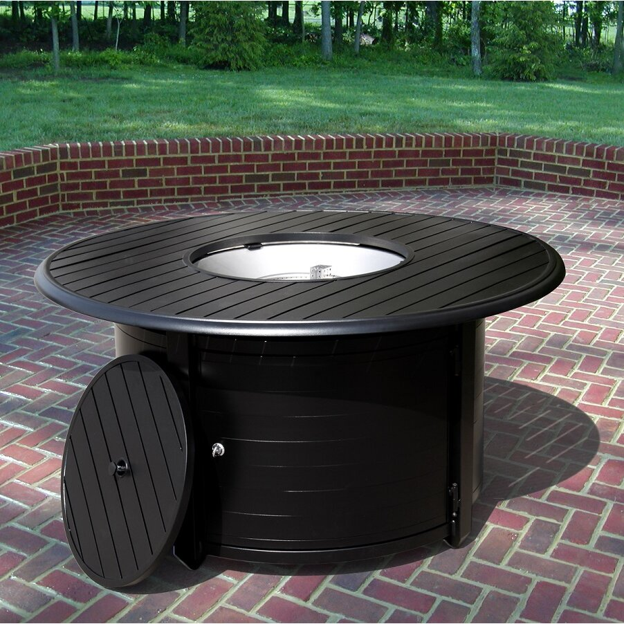 Outdoor Coffee Table Heater: AZ Patio Heaters Extruded Aluminum Propane Fire Pit Table