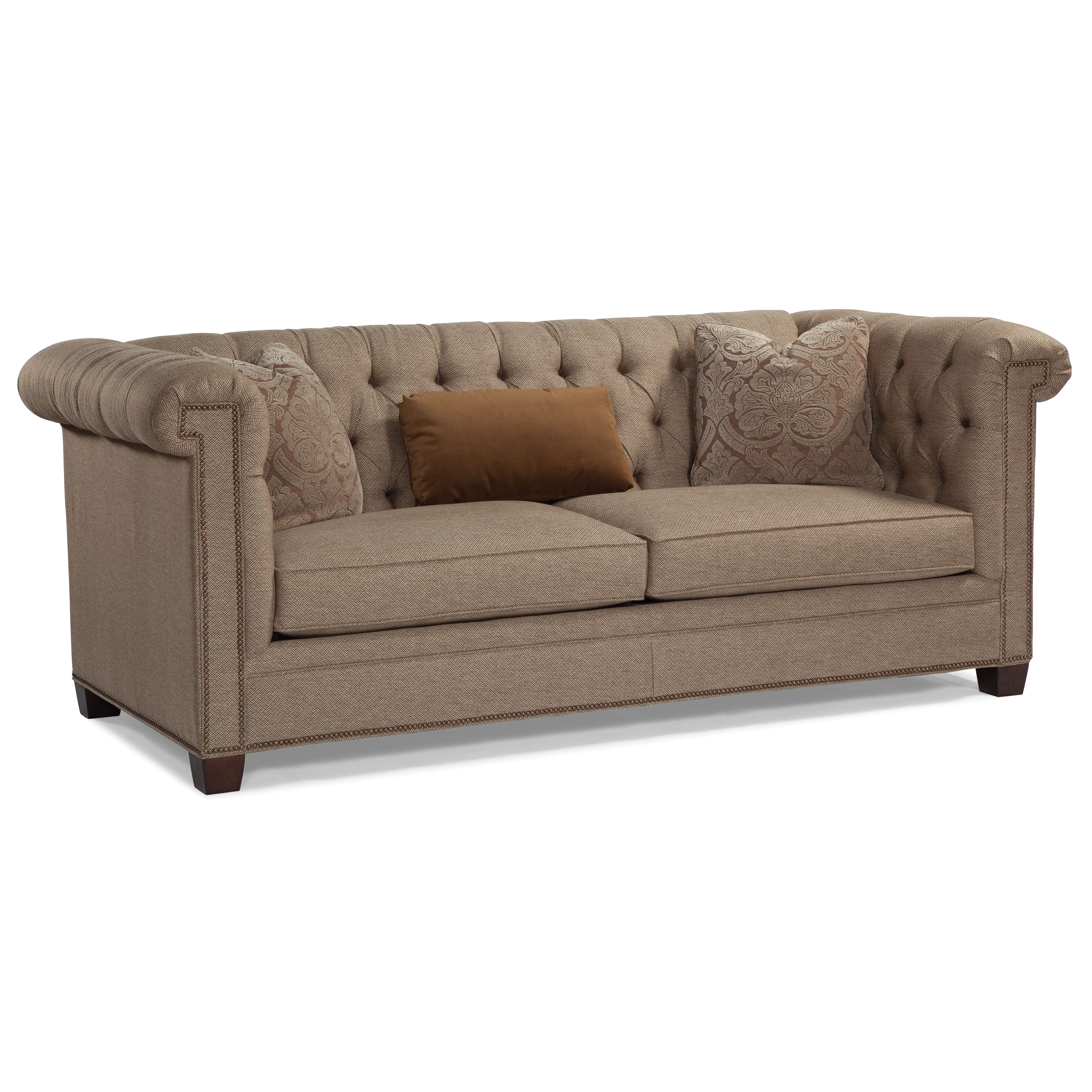 High Back Tufted Chesterfield Sofa Wayfair