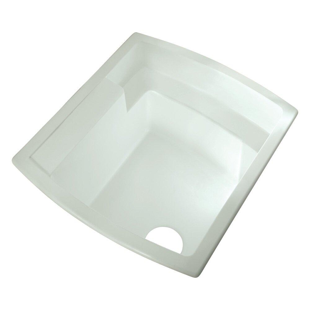 Single Bowl Utility Sink : ... Kohler Latitude 25