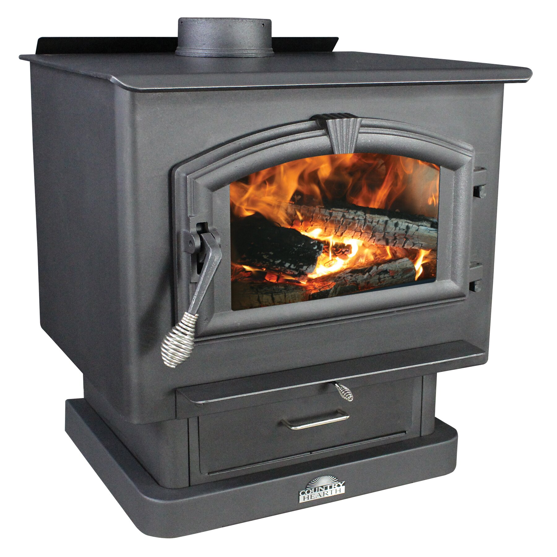 Us Stove 2 000 Square Foot Wood Stove With Blower