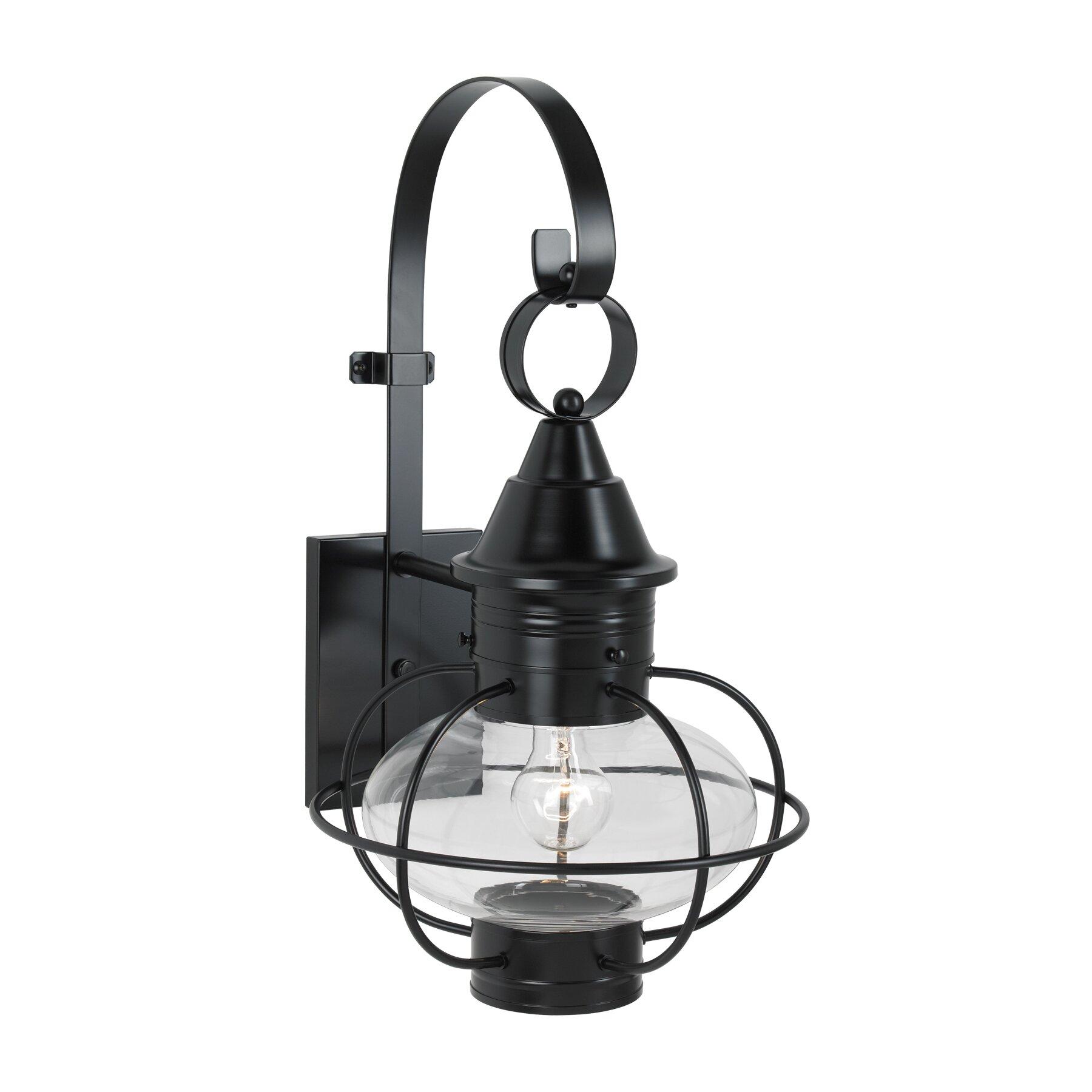 new vidalia onion 1 light outdoor wall lantern by norwell lighting. Black Bedroom Furniture Sets. Home Design Ideas