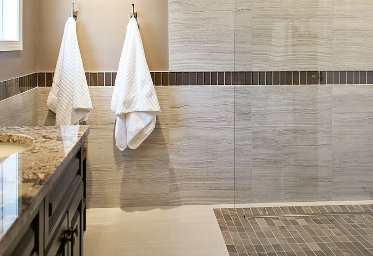 Renovate + Redecorate: Bath Tile + Flooring