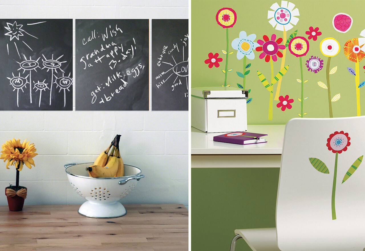 Stick-On Style: Wall Stickers