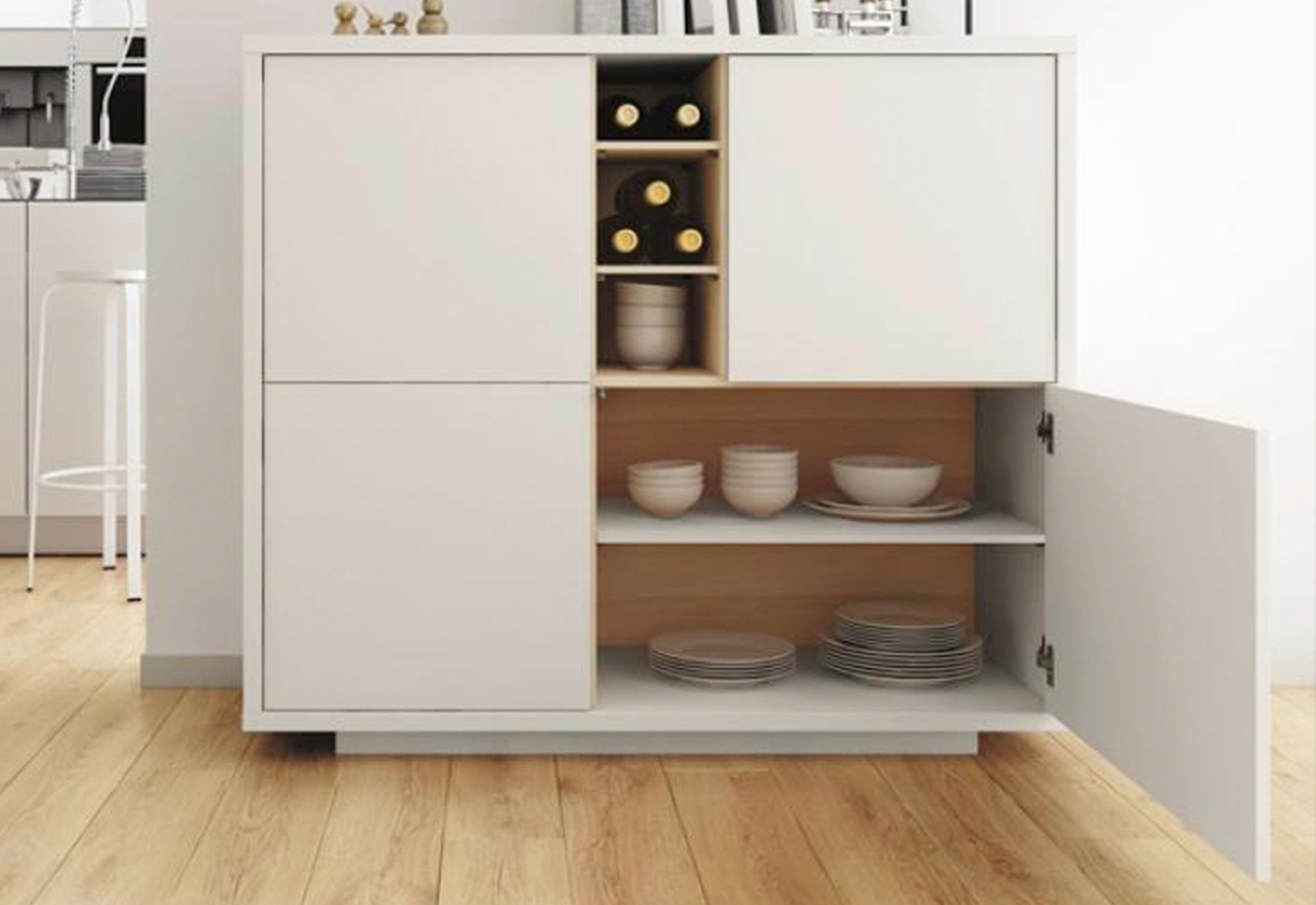 Minimalist Makeover: Dining Storage