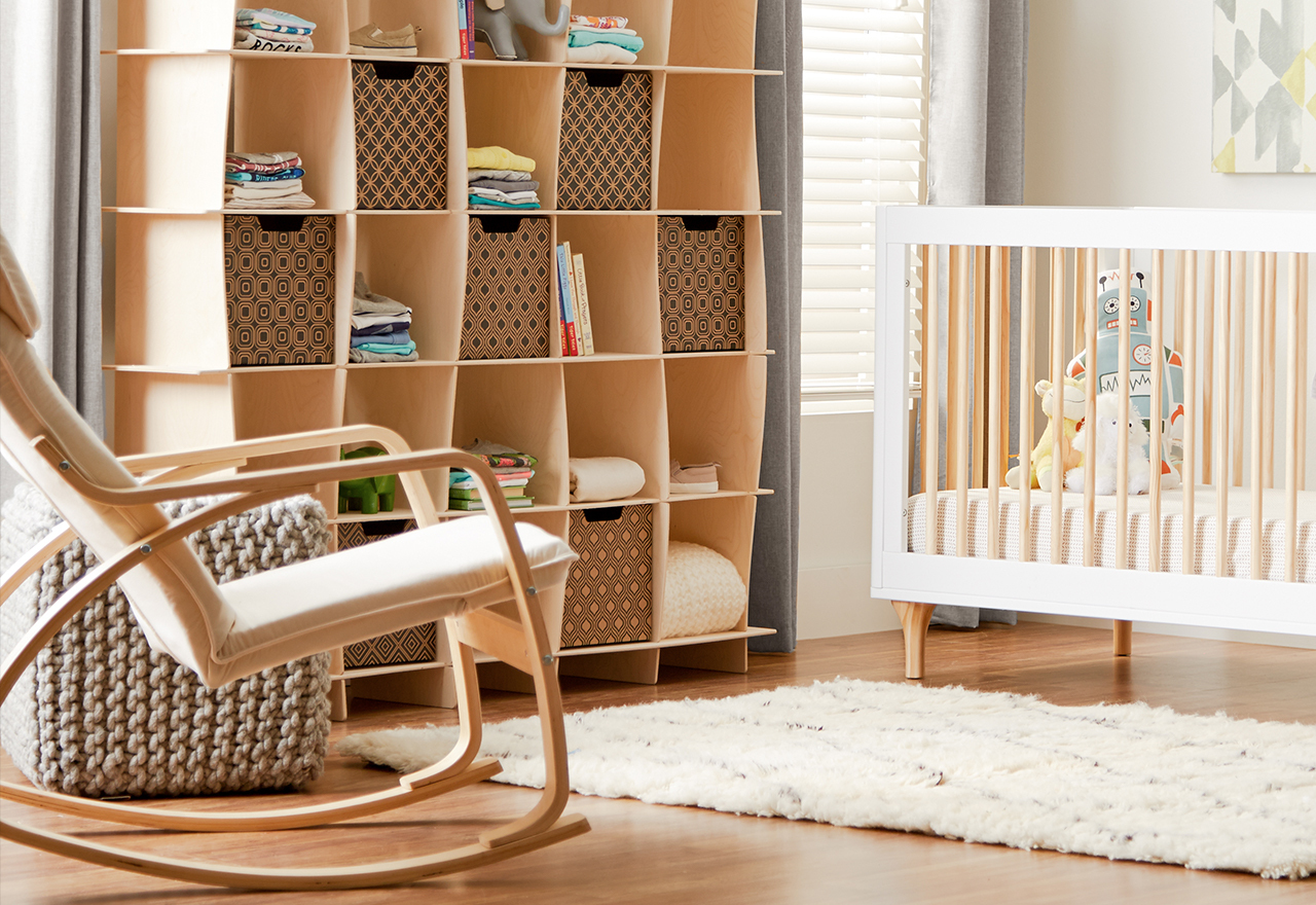 Minimalist Makeover: Baby & Kids Storage