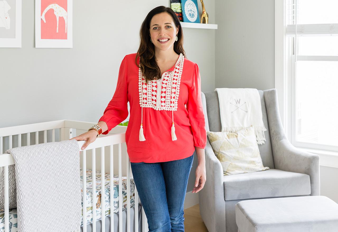 Nursery Reveal: Sarah Whitman