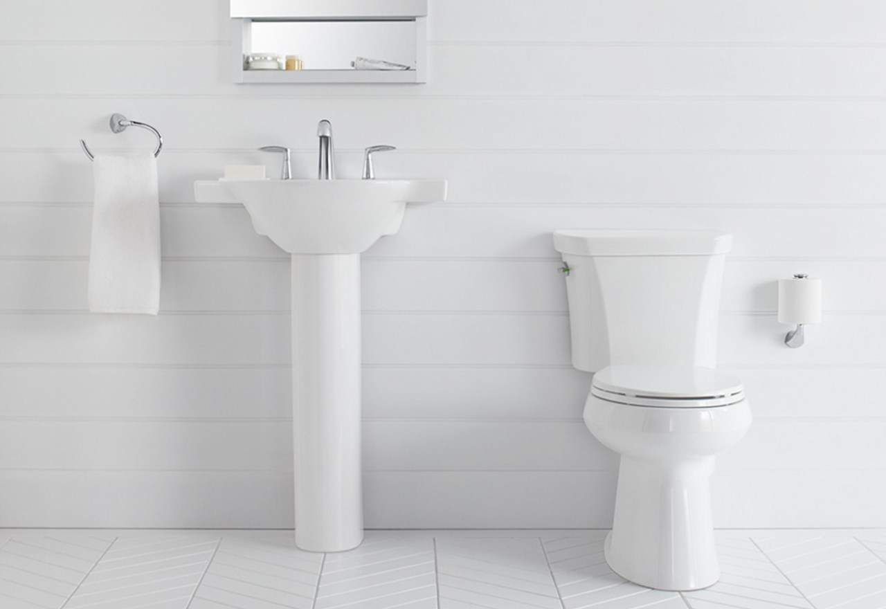 Bathroom White-Out